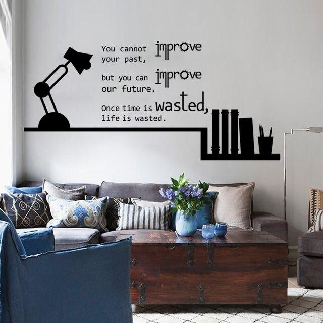 Online Shop Boek Planken Tafellamp Inspiratie Engels Citaat ...