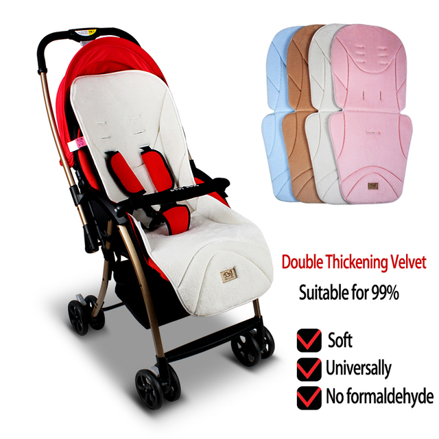 0 3 Years Old Baby Stroller Double Thickening Velvet Car SeatInfant Seat