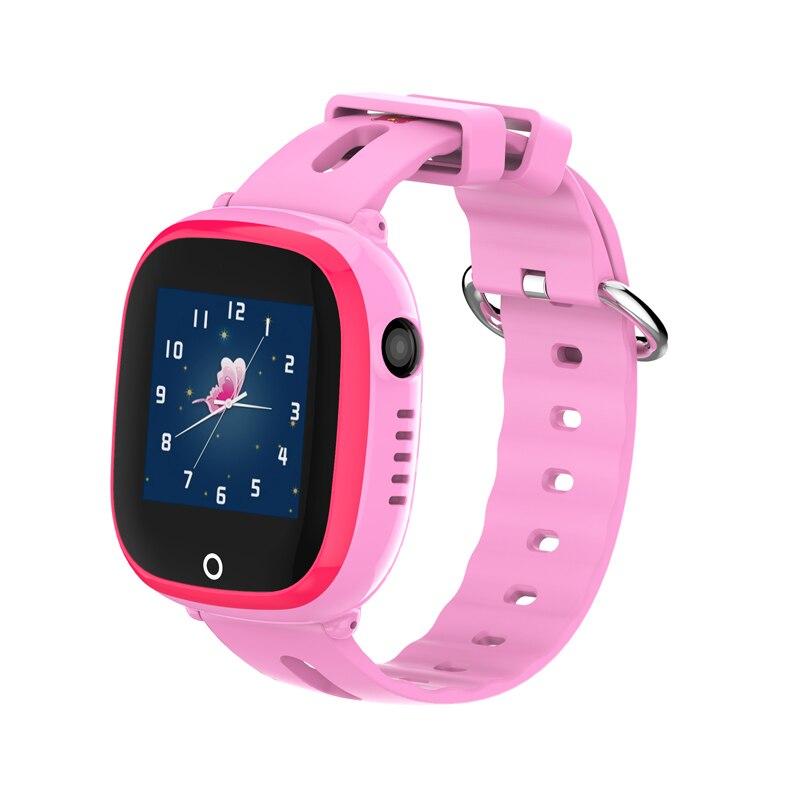D90W enfants enfants montre bébé intelligente montres IP67 GPS positionnement bébé montre intelligente sûre SOS localisation d'appel montre intelligente Anti-perte - 4