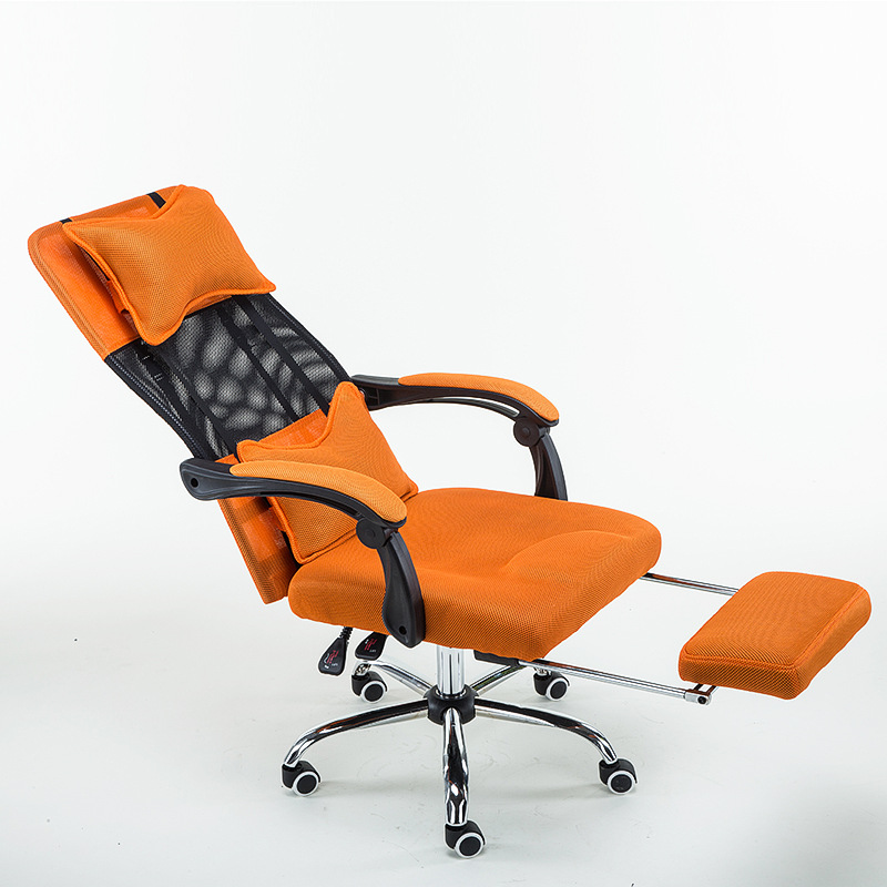 High Quality Ergonomic Executive Office Chair Computer Chair Lying Footrest Meshi Swivel Mesh Backrest Cushion sedie ufficio 240340 high quality back pillow office chair 3d handrail function computer household ergonomic chair 360 degree rotating seat