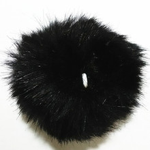 12 pcs/lot Colorful Cute Faux Rabbit Fox fur 6cm Pompon Pendant for Key Chain Bag Chain For Earring For Hair WearCurtain Tassel