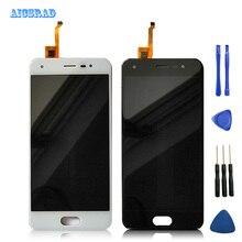 עבור BQ נייד BQ 5012L עשיר BQ5012L BQ 5012L bqs 5012 LCD תצוגה + מסך מגע Digitizer עצרת שחור לבן עם קלטת & כלים