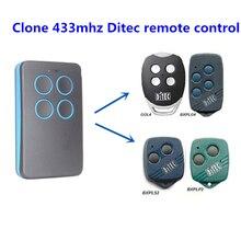 Для DITEC remote, GOL4, BIXLG4, BIXLP2, BIXLS2 repalcement remote