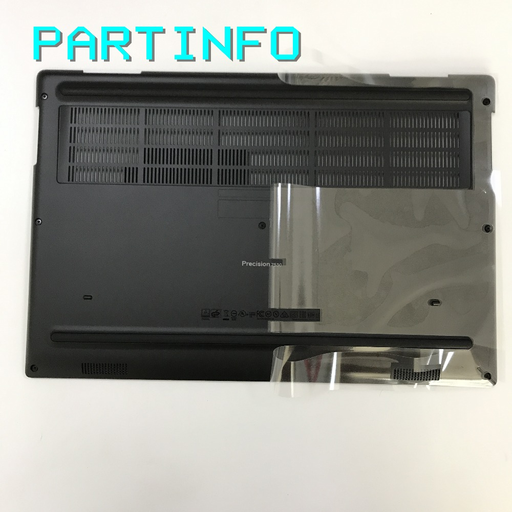 Brand new original Laptop parts for DELL PRECISION 7530 M7530 bottom door base cover big door /w screws black D5HF0 0D5HF0 brand new and original laptop case for dell precision 7510 7520 type c port bottom base 0hdw1j hdw1j
