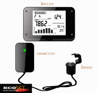 Home Electricity Power Meter Wireless Smart Energy Saving Monitor