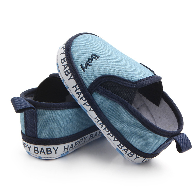 Spring Autumn Baby Shoes Classic Canvas Baby Girl Shoes Cotton First Walker Fashion Baby Boy Shoes