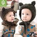 Excellent Winter Children Hat Fashion Cute Warm Baby Kids Girls Boys Knit Wool Crochet Lovely Beanie Hat Cap Gifts for children