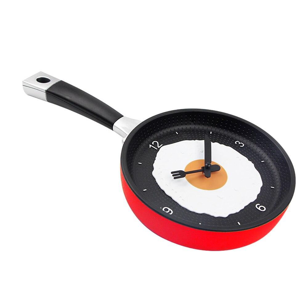 Schönes Design Gebratene Pfanne Uhr Kunststoff Küche Wanduhr für ...