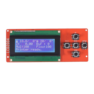 Anet A8 LCD Smart Display Screen Controller Module with Cable for RAMPS 1.4 Arduino Mega Pololu Shield Arduino 3D Printer(China)