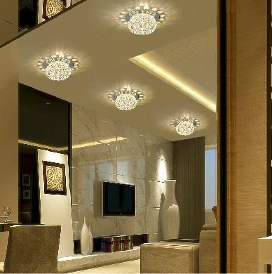 w dormitorio de techo de cristal led lmparas para el hogar moderno saln focos luces