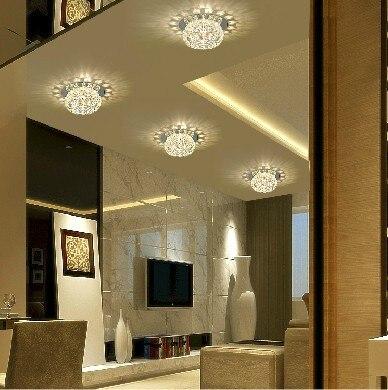 5 W slaapkamer led Crystal plafond lampen voor thuis moderne ...