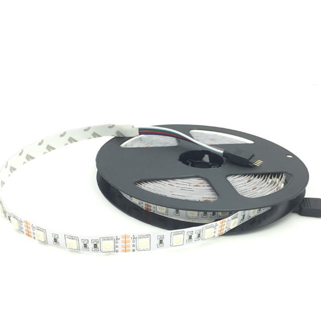 5m 300 LED SMD5050 No waterproof SMD 12V flexible light 60 led/m,6 color LED strip white/warm white/blue/green/red/yellow