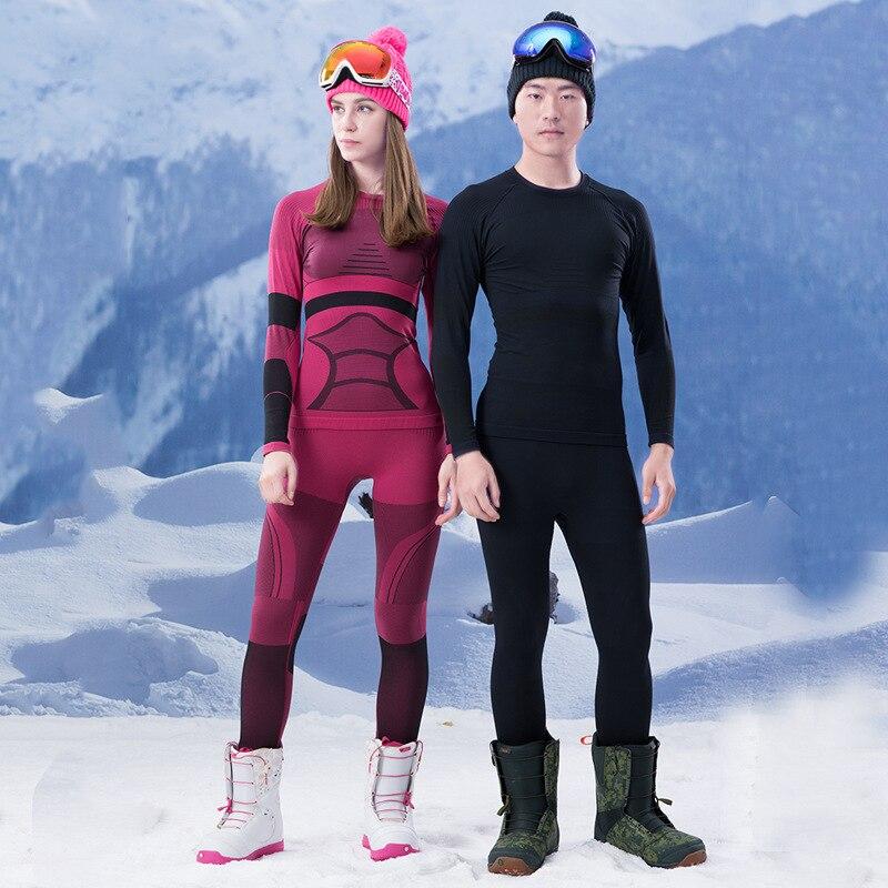Gsou neige amoureux fonctionnelle ski sous-vêtements extérieur séchage rapide chaud ensemble de sous-vêtements