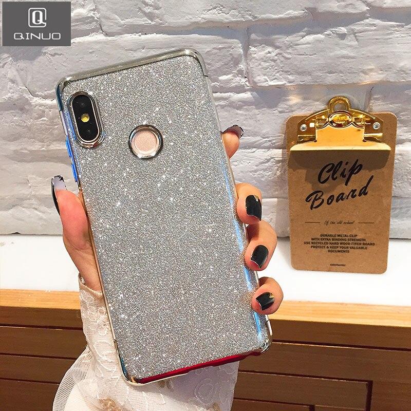 6695ca0139b QINUO Bling Phone Case For Xiaomi Mi A1 A2 6 5X6X8 SE Mix 2 2 S Max 3 F1  Redmi