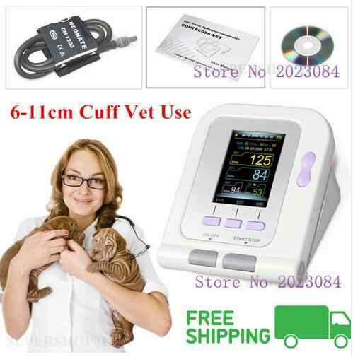 CONTEC Vet 수의학 OLED 디지털 혈압 및 심장 박동 모니터 NIBP CONTEC08A-VET
