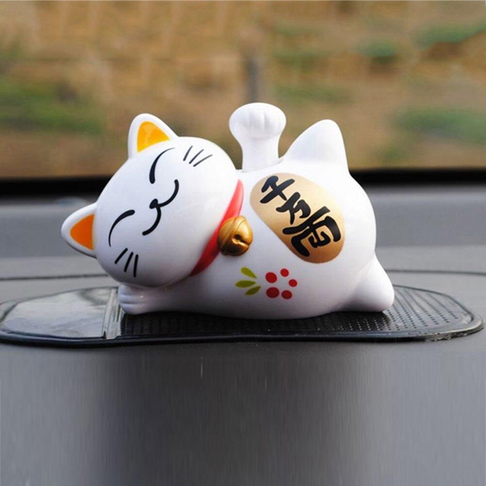 На солнечных батареях Милая танцевальная игрушка Автомобильная солнечная энергия танцор Декор универсальный автомобиль орнамент качающаяся игрушка - Название цвета: 1