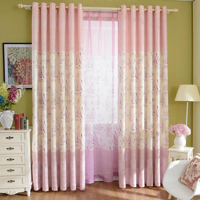modernas cortinas de lino de algodn verde rosa cortinas de ventana dormitorio calidad cortina de puerta