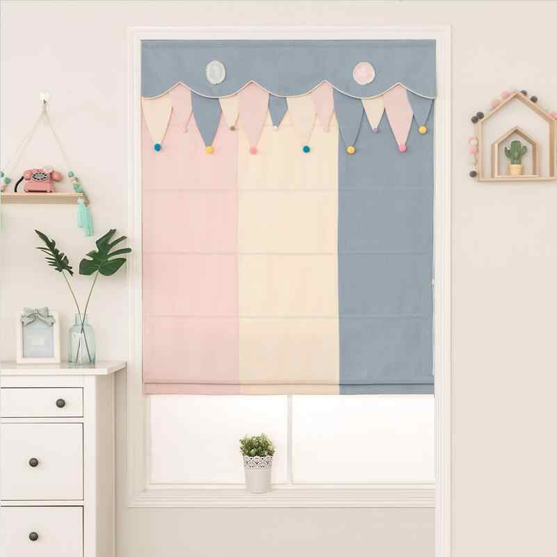 Sweet Kids Blackout / Light filtering Roman Blinds Curtain Customize sizes RM09