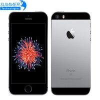 Originais Apple iPhone Desbloqueado Telefones Celulares SE LTE 4.0 '2 GB RAM 16/64 GB ROM A9 Dual Core Impressão Digital 12MP WIFI Smartphone