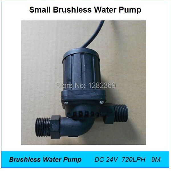 Kecil Pompa Air Dc 24 V 25 W Aliran 650lph 7 5 M Fountain Aquarium Mini Brushless Pompa Listrik Pump Speed Pump Coffeepump Set Aliexpress