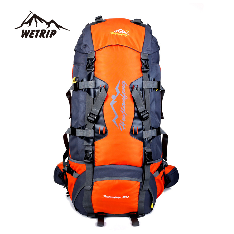 80L Large Capacity Outdoor backpack Camping Travel Bag Professional Hiking Backpack Unisex Rucksacks sports bag Climbing package