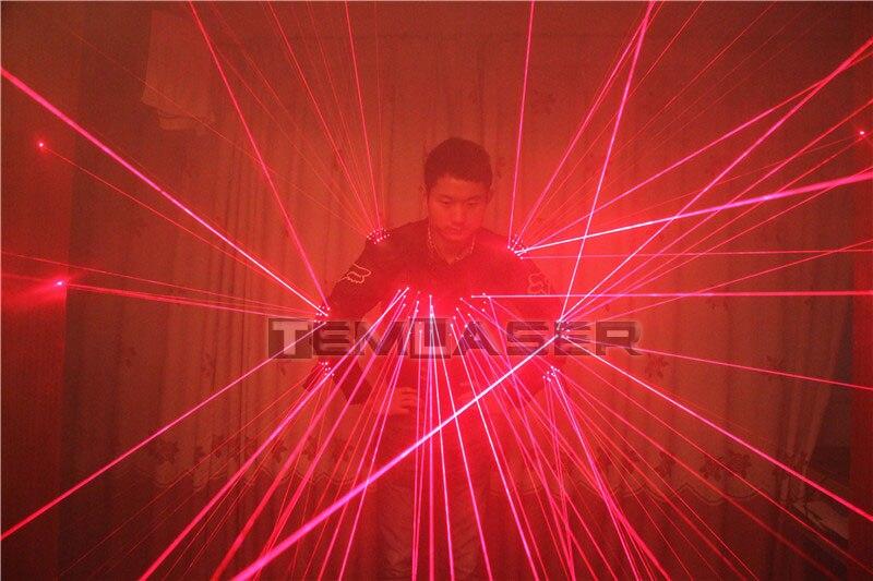 Тегін жеткізу Red Laser Waistcoat LED киім, - Мерекелік және кешкі заттар - фото 4