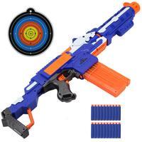 2018 Electrical Soft Bullet Toy Gun Pistol Sniper Rifle Plastic Gun Arme Arma Toy For Children