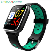 2018 Newest Blood Pressure Q58 Smart Watch Heart Rate Pulse Sports Watches Swimming Band smart wristwatch Waterproof Alarm Clock