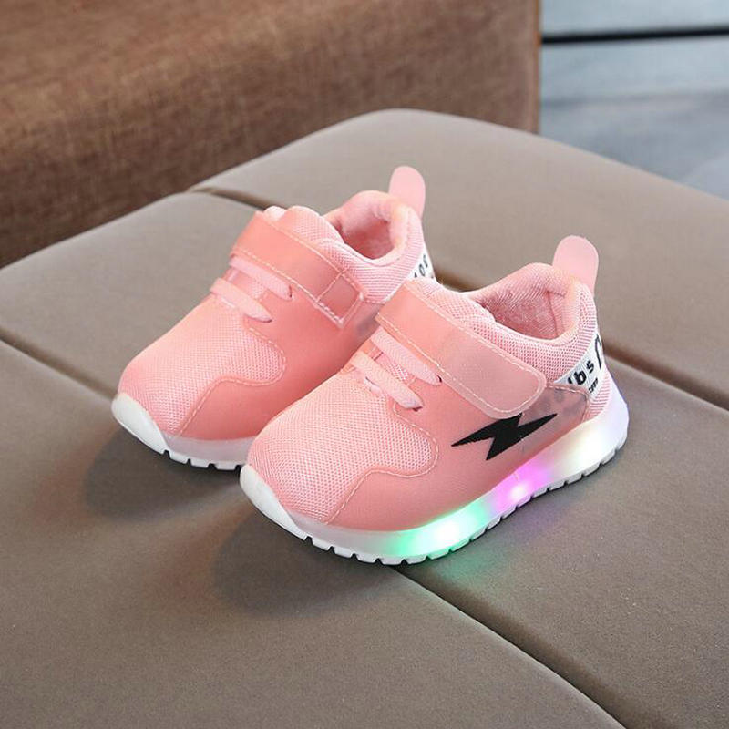 New Autumn Kids Glowing sneakers With Light LED Boys Brand Net Breathable Sneaker Children Casual Lighted for Baby Girls ShoesNew Autumn Kids Glowing sneakers With Light LED Boys Brand Net Breathable Sneaker Children Casual Lighted for Baby Girls Shoes