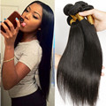 Unprocessed 3 Bundles Brazilian Virgin Hair Straight 100% Human Hair Weft From AlimiceHair Products Brazilian Hair Weave Bundles