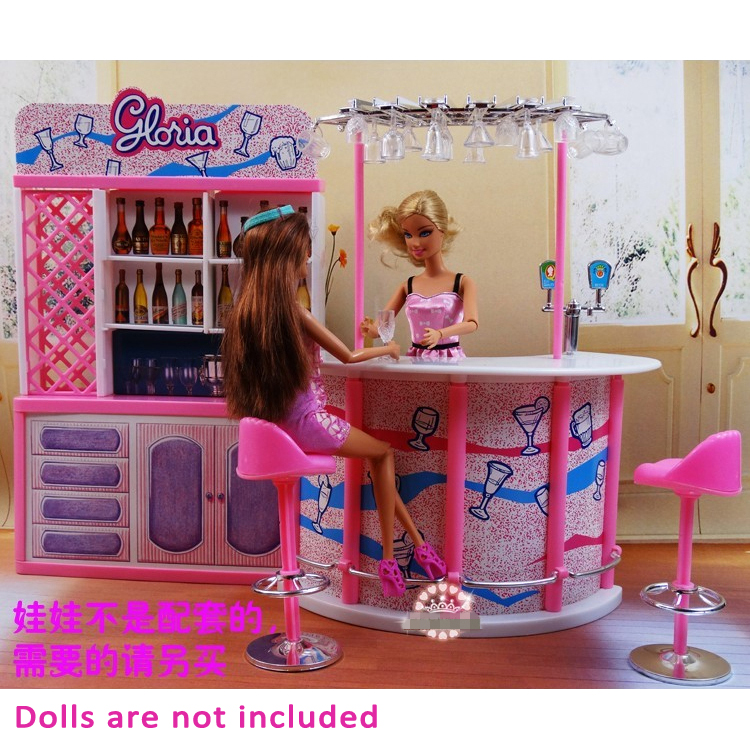 Girls Birthday Gift Toys Play Doll House Plastic