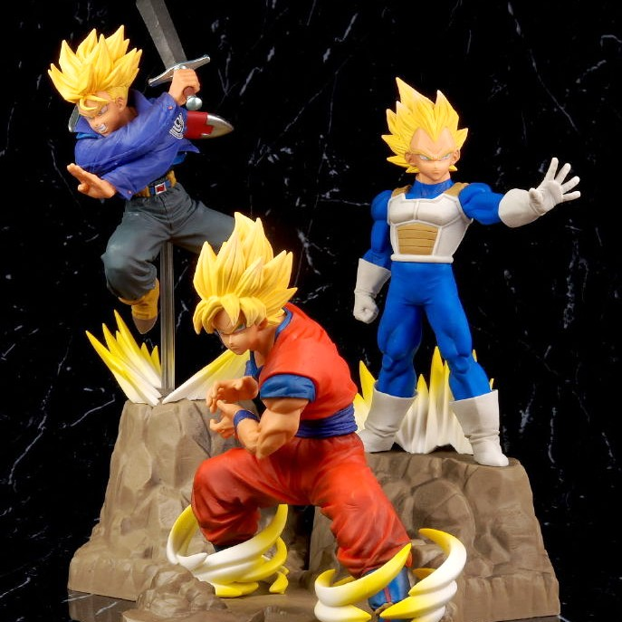 Banpresto Dragon Ball Z Perfection Absolue Figure Vegeta trunks goku figura modèle NO05