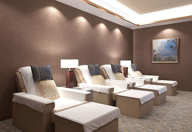 Modern Slaapkamer Behang : Junran pure kleur in moderne eenvoudige zijden behang voor
