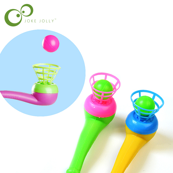 Cute Little Toy Tobacco Pipe Blowing Ball Nostalgia Suspended Ball Classic Childhood Toys Educational Toys For Children GYH Игрушка