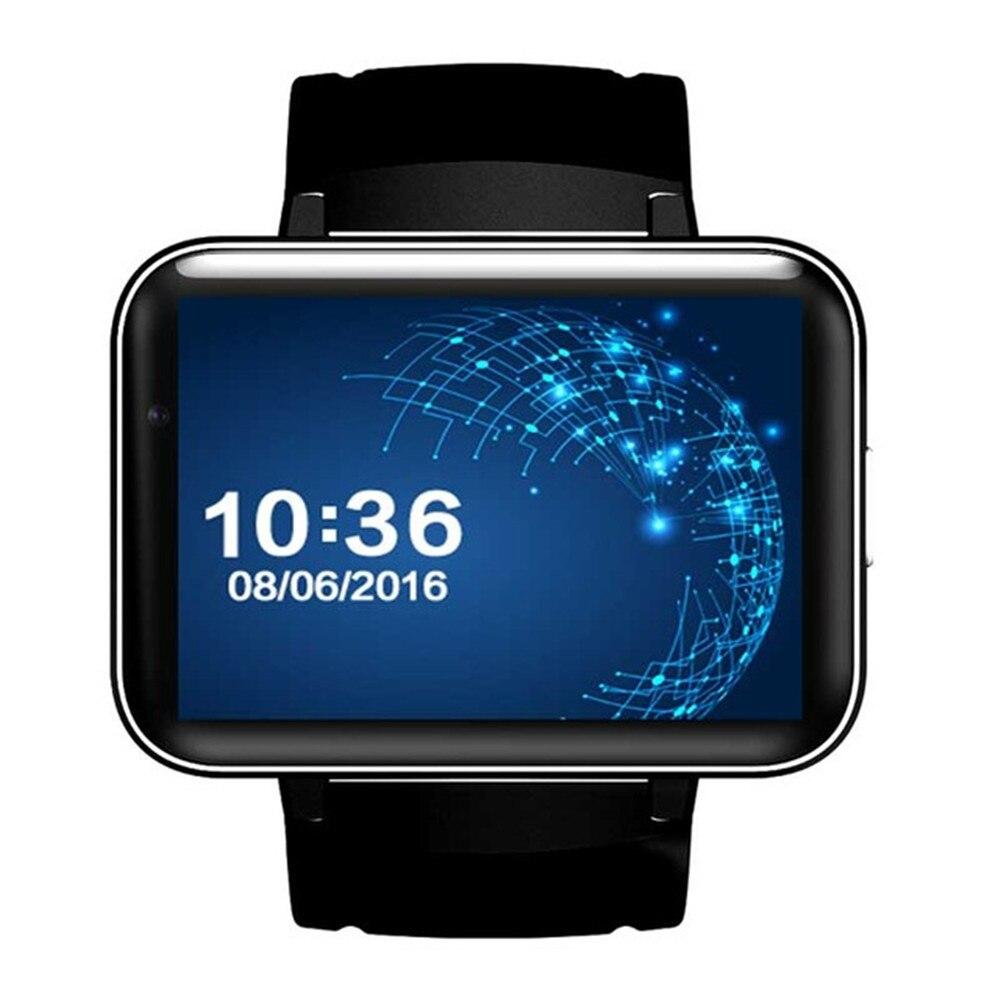 DM98 Smart Horloge MTK6572 2.2 inch Scherm 900mAh Batterij 512MB Ram 4GB Rom Android OS 3G WCDMA GPS WIFI Smartwatch Voorraad - 2