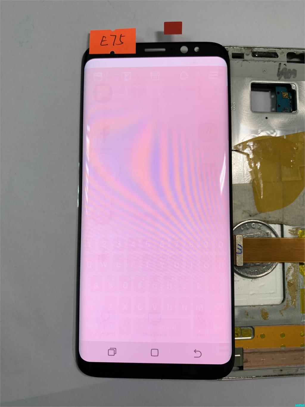 NO.E75 For Samsung Galaxy S8 G950f G950fd G950u Burn-in shadow Lcd Display Touch Screen Digitizer Super AMOLED ScreenNO.E75 For Samsung Galaxy S8 G950f G950fd G950u Burn-in shadow Lcd Display Touch Screen Digitizer Super AMOLED Screen