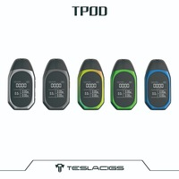 Teslacigs Consumer Electronics Cigarette Kit Tesla TPOD Kit 500mAh with display screen and 2ml Refillable Pod Cartridges