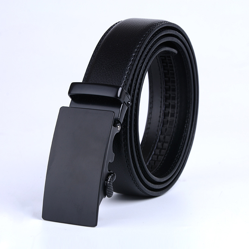 Brand Designer Leather Strap Male   Belt   Automatic Buckle   Belts   For Men Girdle Wide Men   Belt   Waistband ceinture cinto masculino