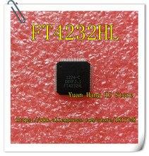 10PCS/LOT FT4232HL FT4232H FT4232 LQFP64 Universal receiver / transmitter IC NEW