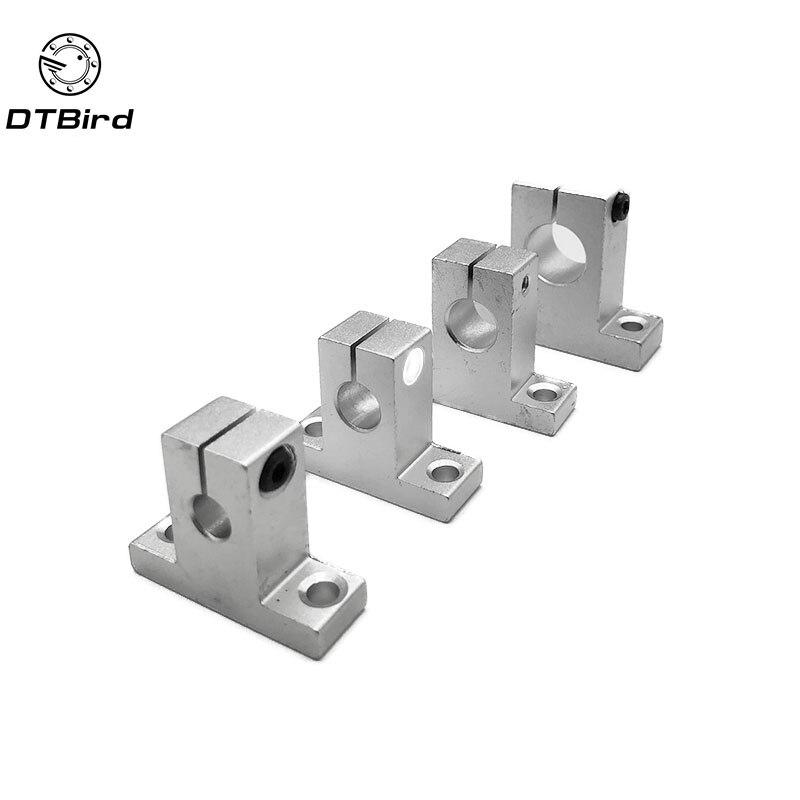 Hot 1pc SK8 SK10 SK12 SK16 SK20 SK25 SH8A 8mm linear ball bearing rail shaft Side Blocks support XYZ Table CNC 3D printer Part цена