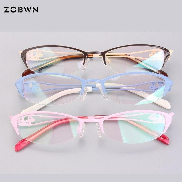 88aca256109a4 Wymieszać hurtownie promocja Mody Marki Spektakl Ramki Okulary Optyczne Kobiet  Ramki Z Przezroczystego Szkła Óculos de