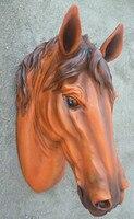Продажи Чистый Новое прибытие дом Способа отделки стен смолы голова животного каннам стены росписи знаки лошадь