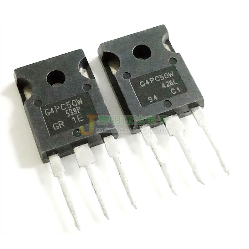 2PCS  IRG4PC50W IRG4PC50 G4PC50W G4PC50 IGBT Field Effect TO-247 600V 27A