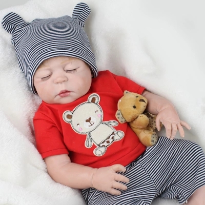 Здесь продается  Full Body Silicone Reborn Baby Doll Toys Baby-Reborn Boy Babies Brithday Christmas Gift Girls Brinquedos  Игрушки и Хобби
