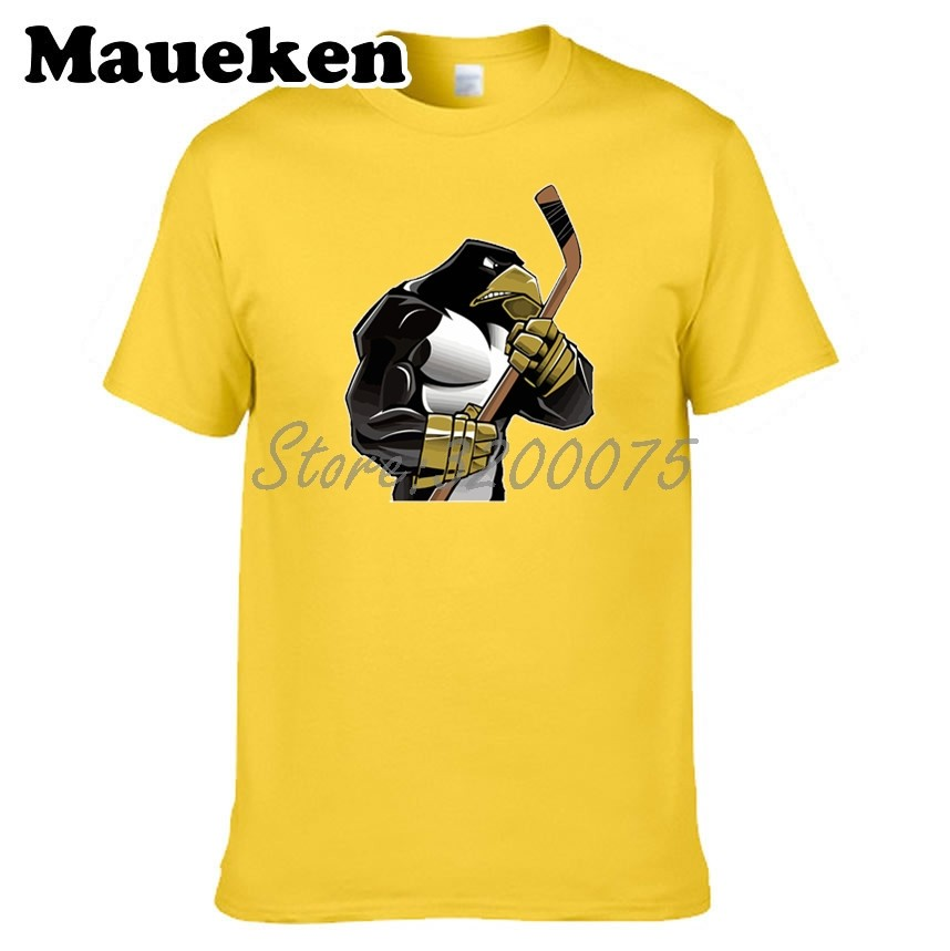 21cdb5548a3f Men T-shirt Strong Penguins Clothes T Shirt Men's for Pittsburgh fans gift  o-