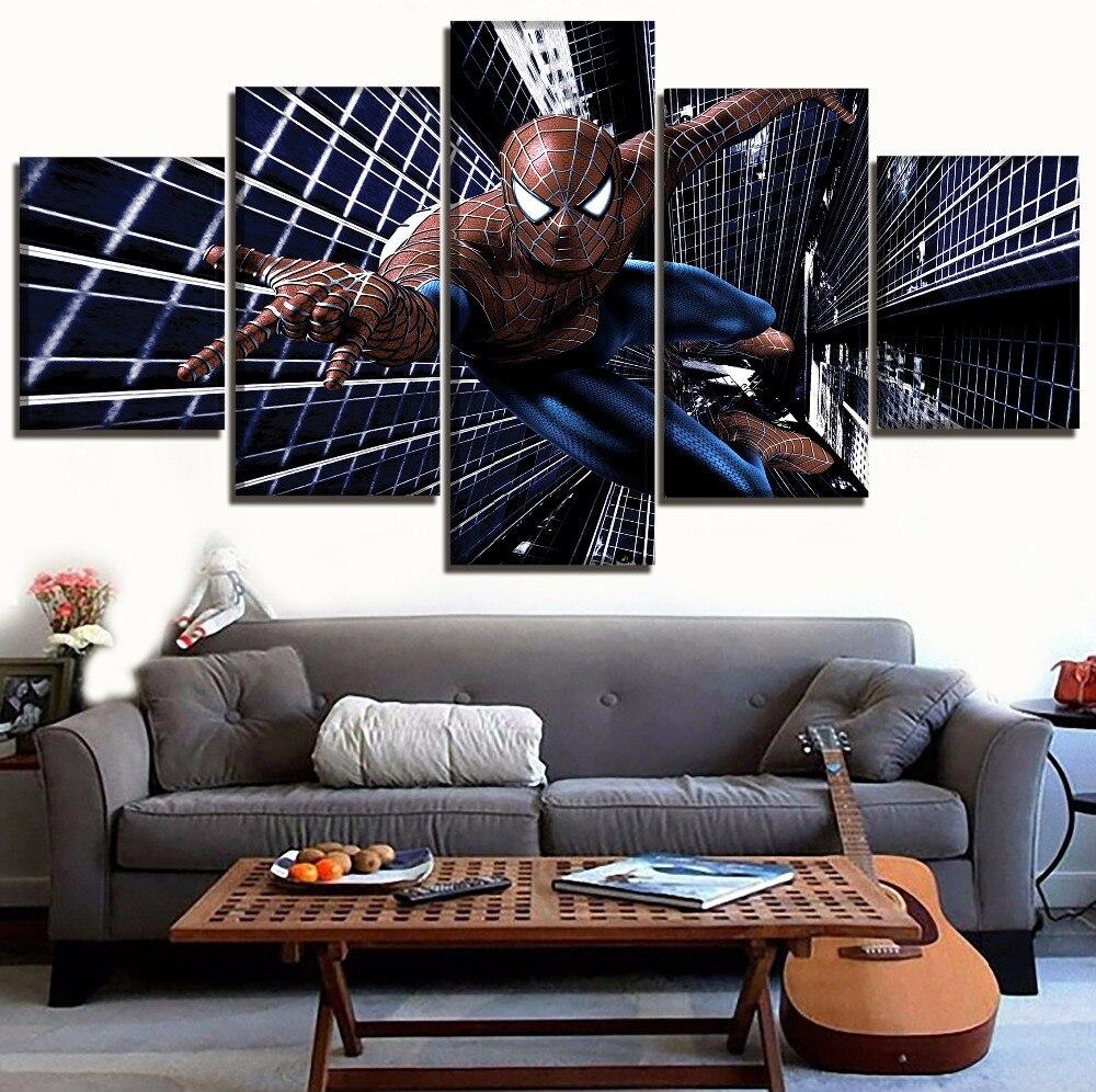 Spider Man Modern Art