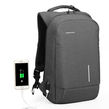 Kingsons Backpack Men 15.6 Inch Laptop Anti Theft Bagpack USB Charging Mini Back Pack for Teenager Boys Big School Business Bag mini backpack men anti theft bagpack 15 6 inch laptop digital camera backpack for teenager boy travel photography waterproof bag