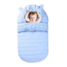 Baby Boys Girls Sleeping Bag Newborn Winter Thick Cotton Sleep Sack Kids Sleepsack For Baby Carriage Stroller Infant Footmuff