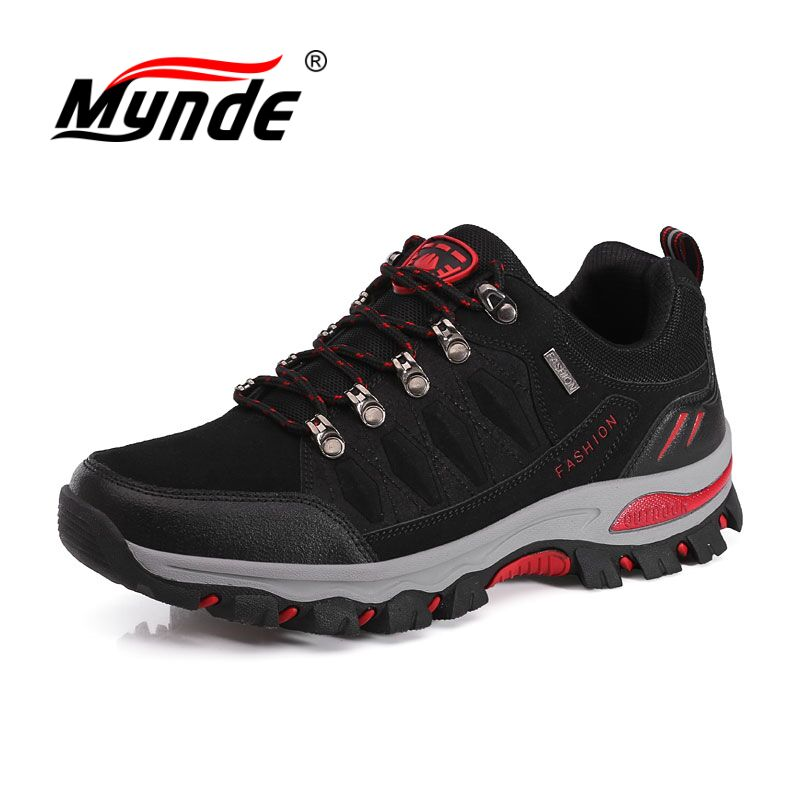 MYNDE New Men Women Hiking Shoes Waterproof Camping Sports Shoes Trekking Climbing Mountain Non-Slip Men's Outdoor Sneakers цена