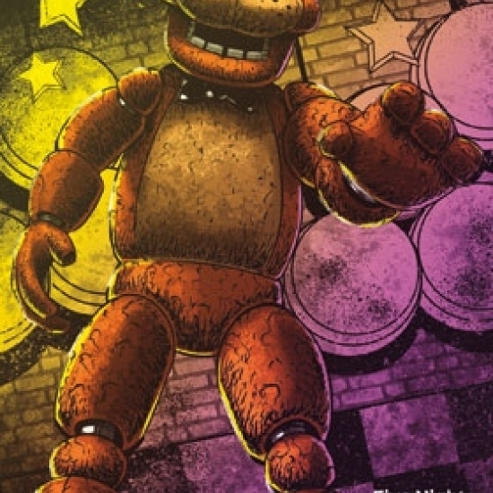 Five Nights At Freddy's – Classic Freddy Laminated Poster Print (22 x 34)